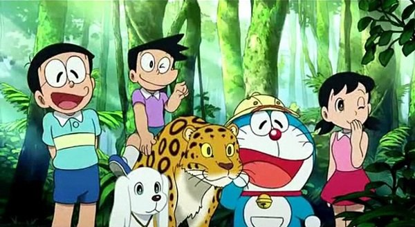 Doraemon The Movie Nobita The Explorer Bow Bow