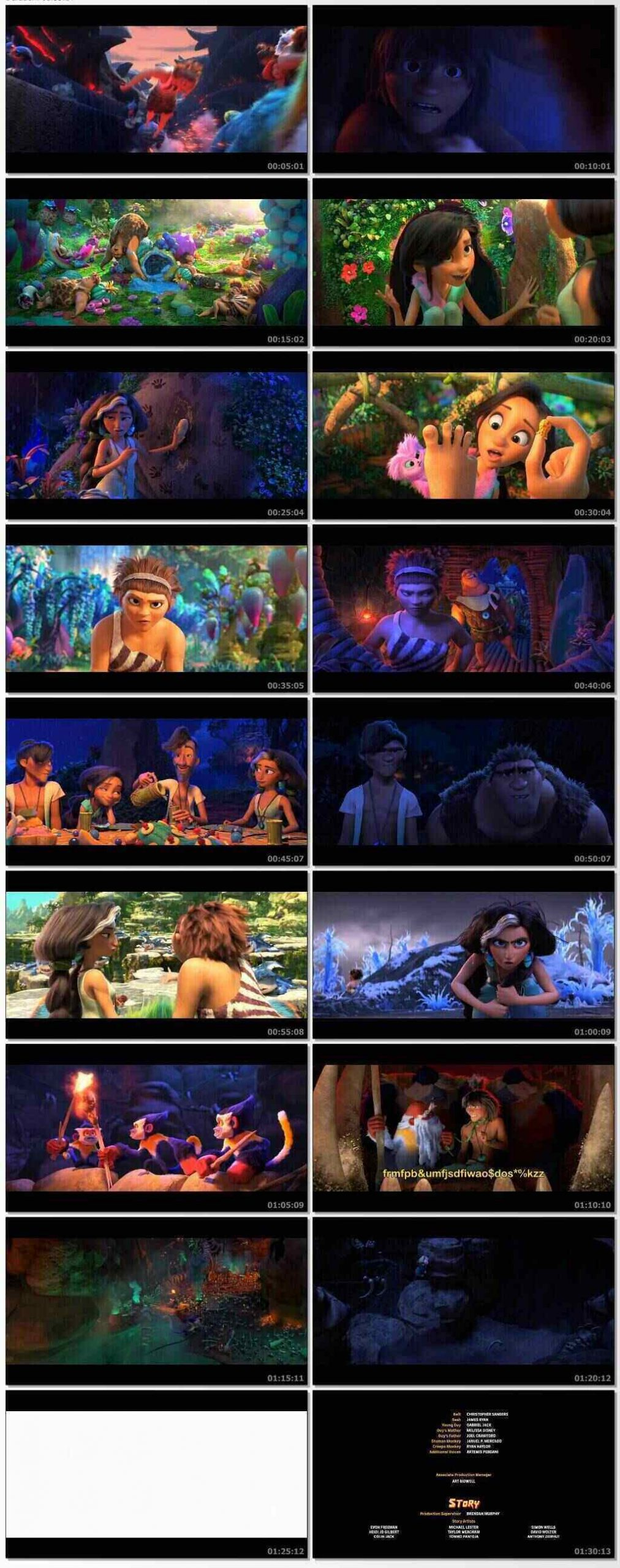 The Croods: A New Age (2020) Hindi Dubbed Download